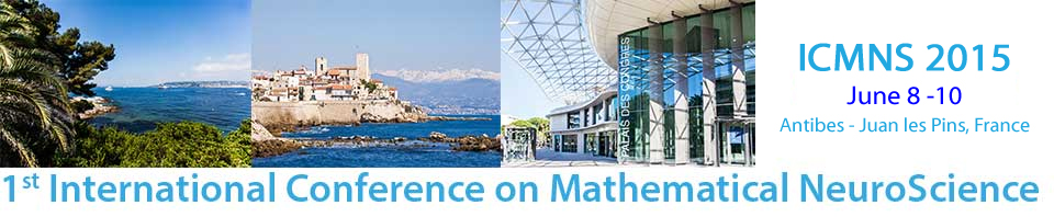 1st International Conference on Mathematical NeuroScience